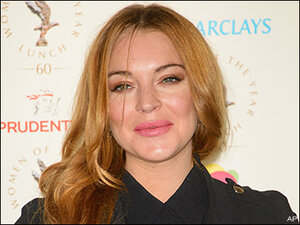 Charge dismissed against man accused of stalking Lindsay Lohan