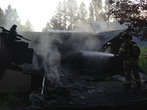 9 cats die in fire at animal rescue near Hillsboro
