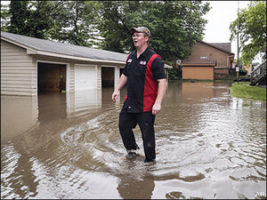 Unrelenting rain leads to more flooding in Midwest