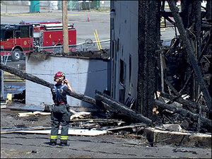Boys face arson charges for Civic Stadium fire