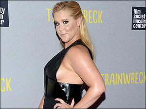 Amy Schumer promises to take stand on gun violence