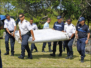 Possible debris from missing Malaysia jetliner to be tested