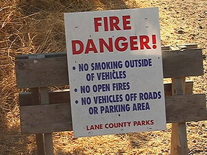 Pisgah trails closed due to fire danger; county park use restricted