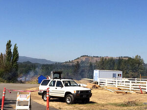 Lane County fire crews spread thin, some fight Stouts Fire