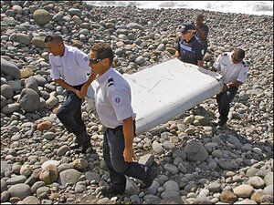 Investigators confirm wing part is from missing Malaysia jetliner
