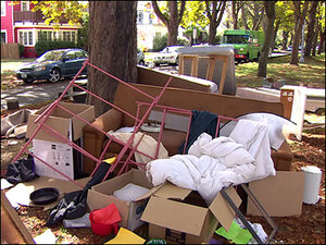 Trashy tradition at UW leaves furniture piled on the streets