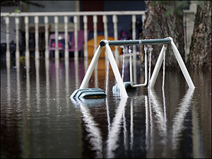 Round 2: Downstream South Carolina towns brace for flooding