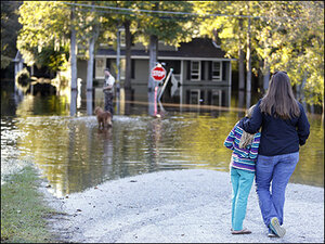 Receding floodwaters lead to homecoming heartbreak
