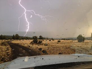 Crews chase new wildfires sparked by lightning