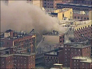 1 dead in NYC building explosion, 15 injured