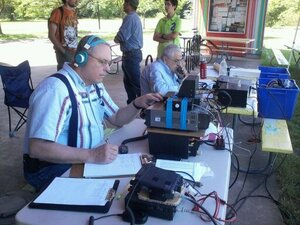 Amateur radio has a Field Day