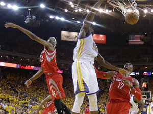 Warriors eliminate Rockets in 104-90 win, end 40-year Finals drought