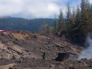 Sandy Creek fire 60 percent contained
