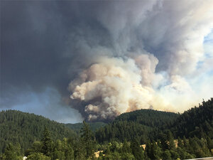 Sheriff issues additional evacuation orders in face of Stouts Fire