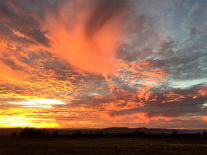Your photos: Stunning sunset ends 2nd weekend of October