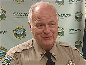 Lane County to interview 2 candidates to replace sheriff