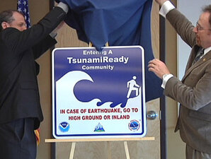 NOAA: Coos Bay/North Bend are 'Tsunami Ready'
