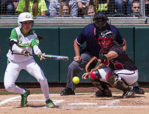 Ducks take both games in double header