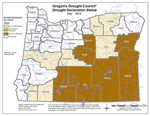 Lane among 7 counties asking governor for drought declarations