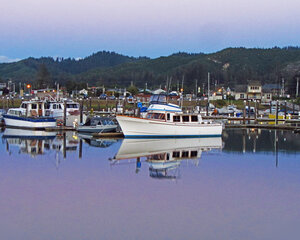 Twilight at Salmon Harbor