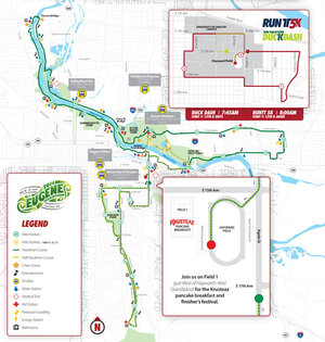 Expect detours for Eugene Marathon course Sunday