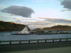 Tugboat on the Columbia river