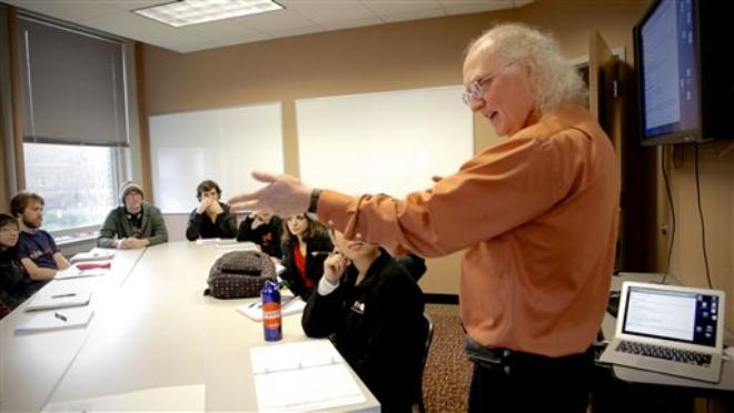 OSU science professor teaches in song, limerick