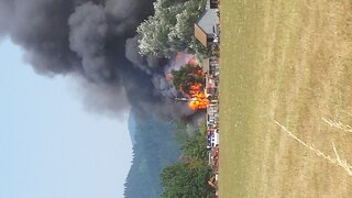 house fire on Butte Rd in Creswell