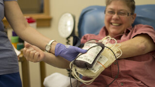 Local Woman Donates Blood for Babies