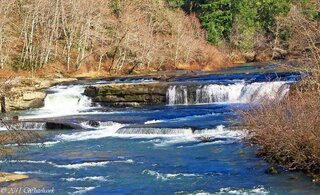 Smith river Falls in January