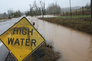 Dallas, Oregon Severe Flooding.