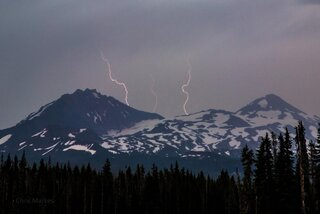 McKenzie Pass Lightning 8-5-2012