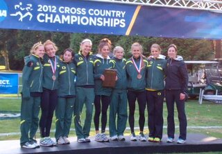 Lady Ducks Win West Regional  XC Title