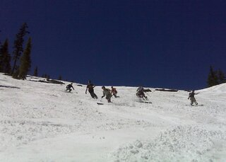 June skiing at The Pass Is a HIT