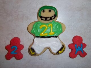 Our cookies for the Natty and my Ducks.