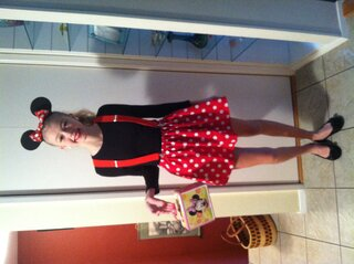 Minnie Mouse Halloween!