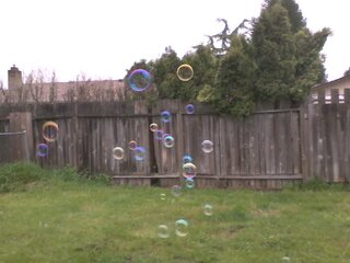 Even big kids love bubbles