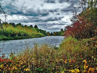 Storm Clouds Over The McKenzie River