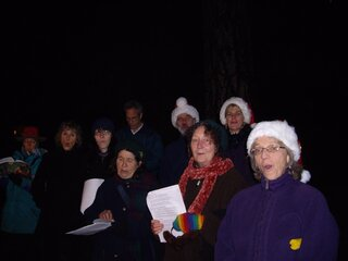 Christmas Carolers Heard in South Eugene