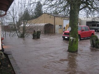 Flood Aumsville 2012 Still Raining