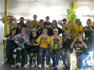 Lincoln M.S. Staff Loves the Ducks!