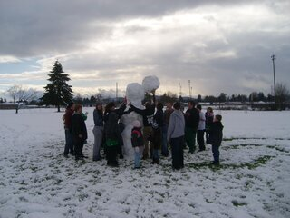 Giant Snowman!!! take a look!