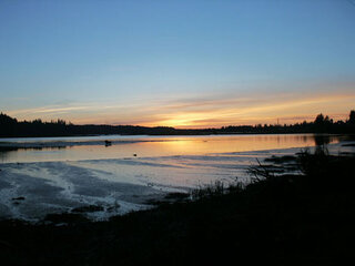 Sunset on the Siuslaw