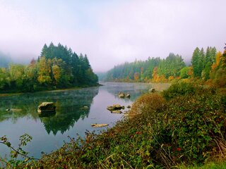Autumn On The Umpqua