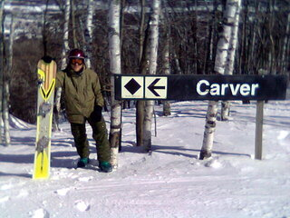 Carving at Big Sky 2007
