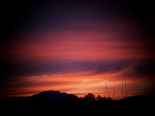 sunrise in Sutherlin