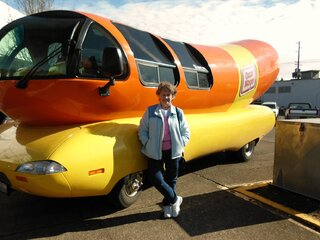 Wienermobile in Springfield