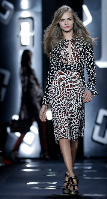 Fashion Diane von Furstenberg Fall 2013