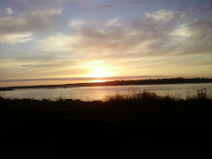 Beautiful Sunset winchester Bay Oregon
