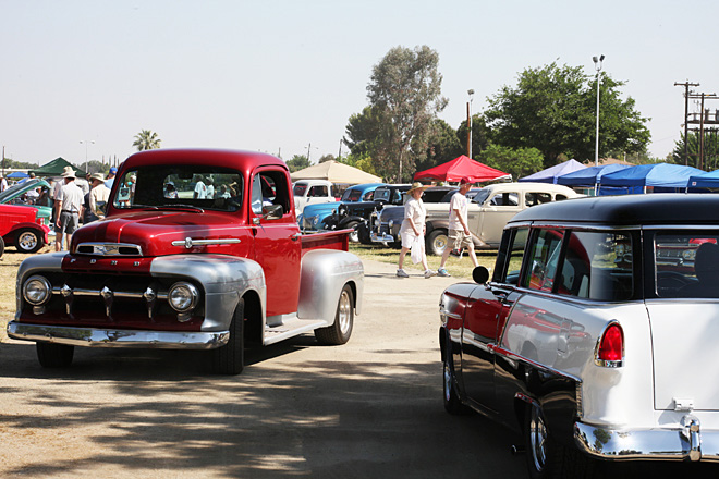 Classics cruise the 37th Western Street Rod Nationals